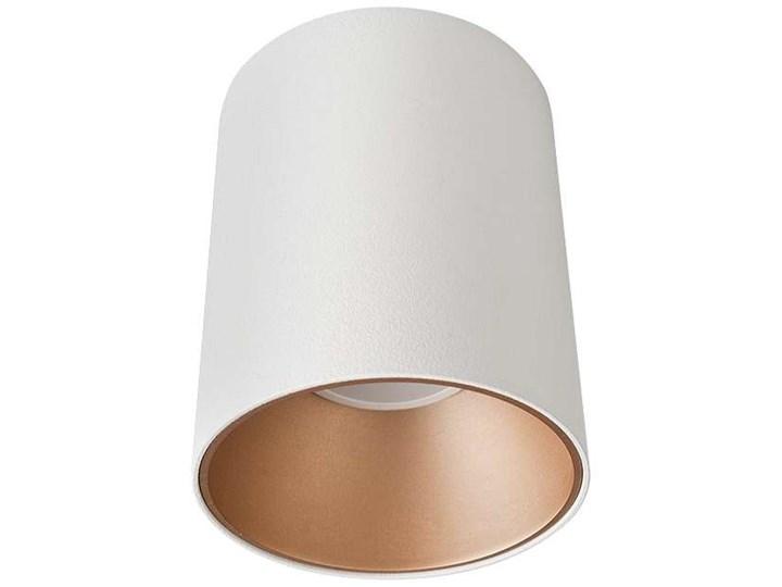 LAMPA sufitowa EYE TONE 8931 Nowodvorski metalowa OPRAWA tuba downlight czarna złota Oprawa led Okrągłe Kolor Czarny Oprawa stropowa Kategoria Oprawy oświetleniowe