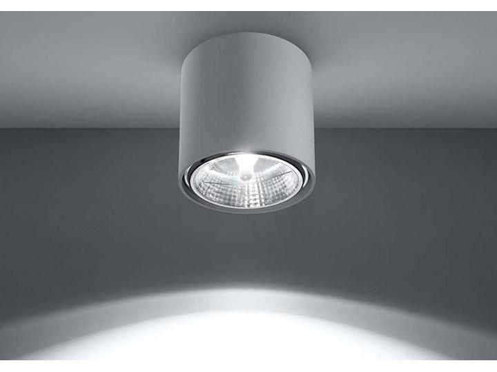 Spot LAMPA sufitowa SOL SL695 metalowa OPRAWA downlight natynkowa tuba biała Oprawa led Okrągłe Kategoria Oprawy oświetleniowe Oprawa stropowa Kolor Biały