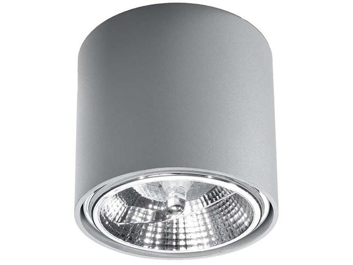Spot LAMPA sufitowa SOL SL695 metalowa OPRAWA downlight natynkowa tuba biała Okrągłe Oprawa stropowa Oprawa led Kolor Biały
