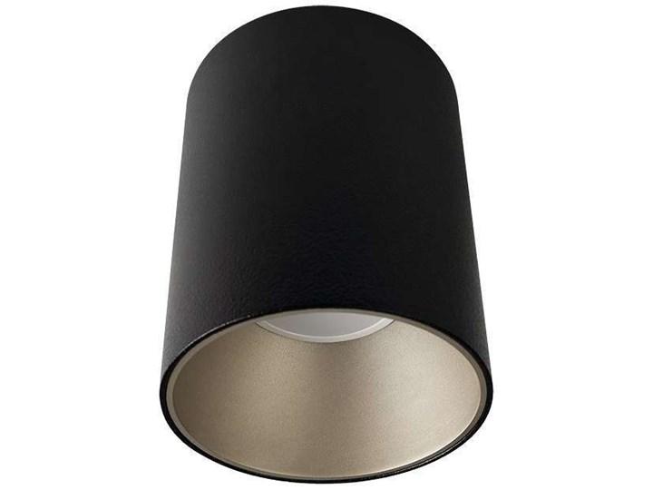 LAMPA sufitowa EYE TONE 8931 Nowodvorski metalowa OPRAWA tuba downlight czarna złota Kolor Czarny Oprawa stropowa Okrągłe Oprawa led Kategoria Oprawy oświetleniowe