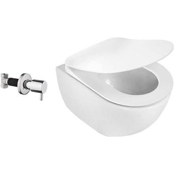 Deante Peonia Zero Miska WC z funkcją bidetu z zaworem podtynkowym