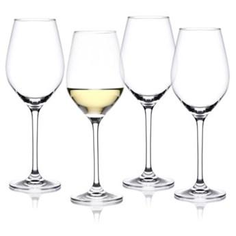 Zestaw 4 kieliszków do białego wina DUKA ASPEN 360 ml transparentny szkło