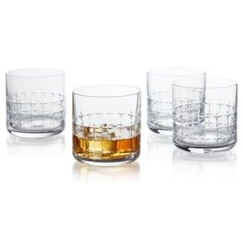 Zestaw szklanek do whisky DUKA CRISTER 4 sztuki 350 ml szkło
