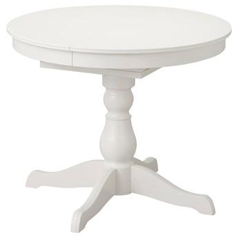IKEA INGATORP Stół rozkładany, biały, 90/125 cm