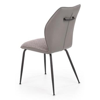 Krzesło K383 jasno szare/szare HALMAR