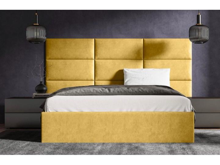 Łóżko tapicerowane LAPEME bez zagłówka + kolory Kategoria Łóżka do sypialni Rozmiar materaca 160x210 cm