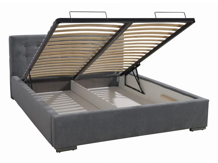 Łóżko tapicerowane LAPEME bez zagłówka + kolory Rozmiar materaca 160x210 cm Rozmiar materaca 140x210 cm
