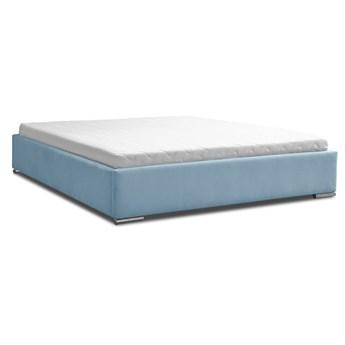 Łóżko tapicerowane LAPEME bez zagłówka + kolory