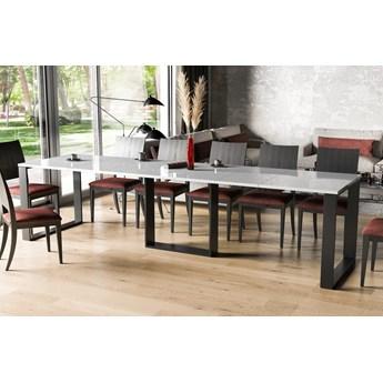 Stół Borys rozkładany 130-250 biały połysk - Meb24.pl