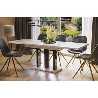 Stół Appia rozkładany 130-210 biały połysk - Meb24.pl