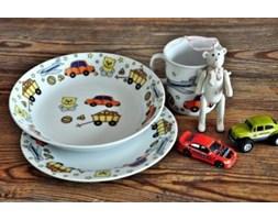 """Porcelanowy zestaw obiadowy dla dzieci """"Toys"""""""