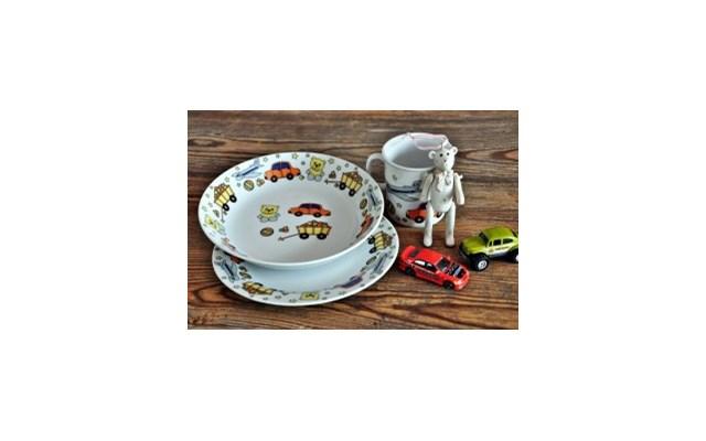 Porcelanowy Zestaw Obiadowy Dla Dzieci Toys Naczynia Dla Dzieci