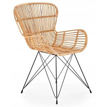 Krzesło K335 Rattan Naturalny Halmar
