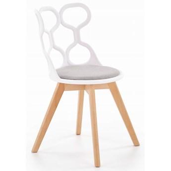 Krzesło K308 Biały/Popiel  Halmar
