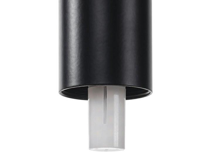 Lampa wisząca FLUSSO 43 GRANDE czarna Stal Szkło Lampa z kloszem Metal Lampa LED Ilość źródeł światła 43 źródła