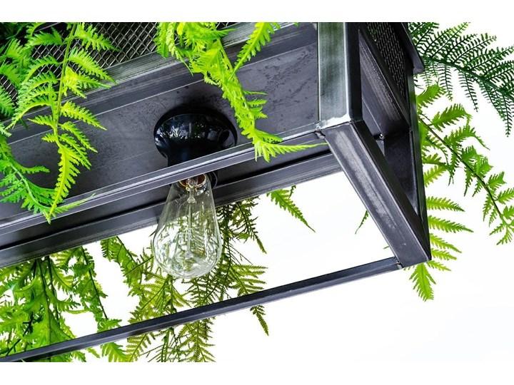 Lampa wisząca / kwietnik SEMIRA 180 INDUSTRIAL Metal Kategoria Lampy wiszące Kolor Czarny