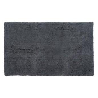 Szary bawełniany dywanik łazienkowy Tiseco Home Studio Luca, 60x100 cm