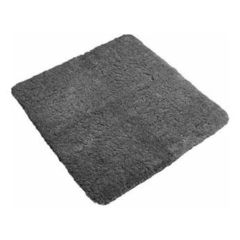 Szary antypoślizgowy dywanik łazienkowy Tiseco Home Studio Jule, 60x60 cm