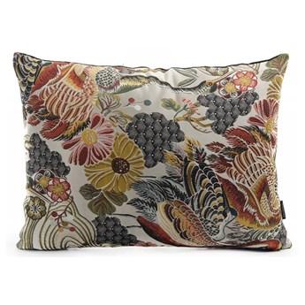 Poduszka dekoracyjna w kwiaty z domieszką bawełny House Nordic Alvito, 60x45 cm