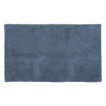 Niebieski bawełniany dywanik łazienkowy Tiseco Home Studio Luca,60x100cm