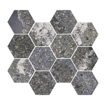Lithops Lipan Natural Mosaico Hexagonal 28x30 mozaika