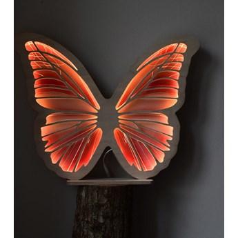 Ozdoba podświetlana do pokoju dziecięcego Motylek  Miodowy
