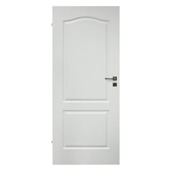 Drzwi pełne Archi 90 lewe białe lakierowane