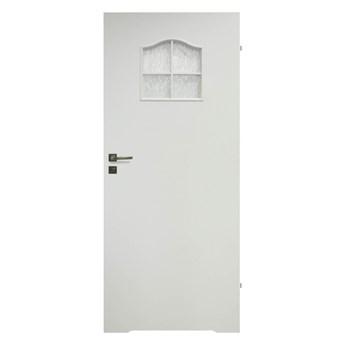 Drzwi z podcięciem Klasyk 70 prawe białe