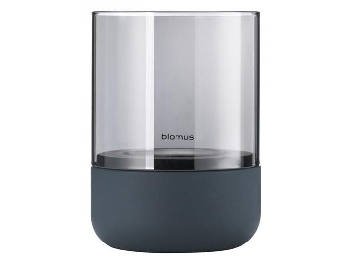 wielkanocne dodatki latarnia h14cm steel gray smoke CALMA BLOMUS Metal Stal Lampion Świecznik Kategoria Świeczniki i świece