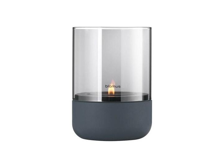 wielkanocne dodatki latarnia h14cm steel gray smoke CALMA BLOMUS Metal Świecznik Lampion Stal Kategoria Świeczniki i świece Kolor Szary