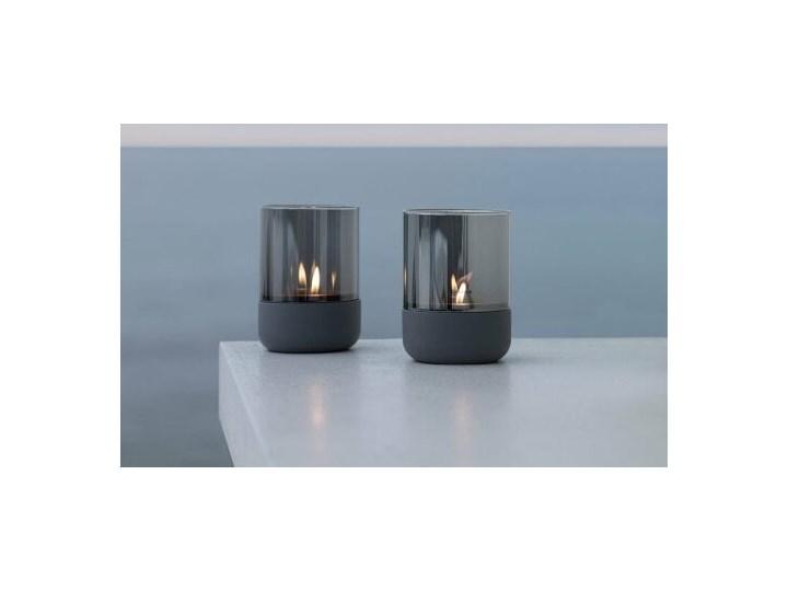 wielkanocne dodatki latarnia h14cm steel gray smoke CALMA BLOMUS Lampion Kategoria Świeczniki i świece Stal Świecznik Metal Kolor Szary