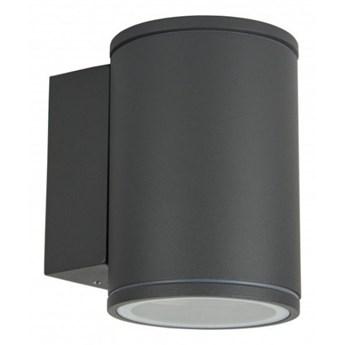 ADELA MIDI kinkiet 1 x 35W GU10 metalowy zewnętrzny lampa ścienna elewacyjna na balkon taras tuba SUMA M1456 DG