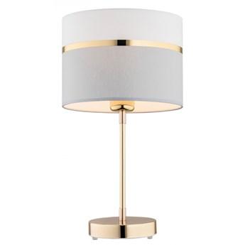 KASER lampka stojąca 1 x 15W E27 nocna stołowa nowoczesna do sypialni abażur ARGON 4286