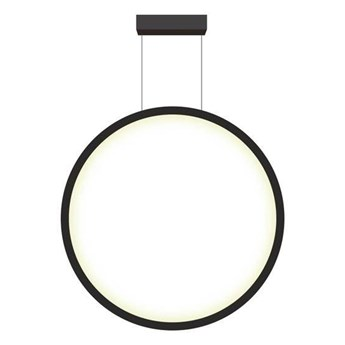 MIRROR MAŁA lampa okrągła 1 x 35W LED 3000K nowoczesna ledowa czarna łazienkowa IP44 minimalistyczna Light Prestige LP-999/1P S BK