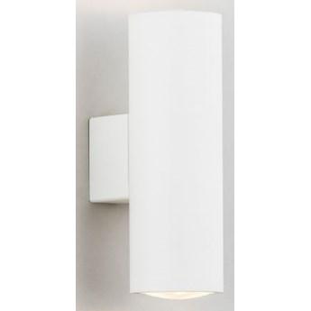 MITOS Reflektory ścienne kinkiet 2 x 5W GU10 biały NOWOCZESNY KINKIET ŚCIENNY prosta lampa tuba ARGON 910