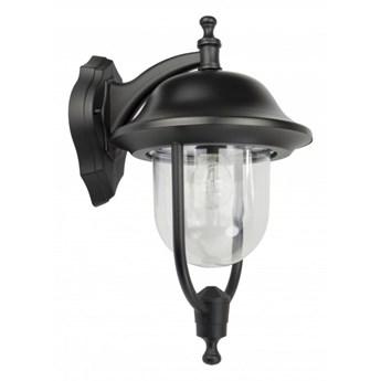 PRINCE kinkiet 1 x 60W E27 lampa ścienna zewnętrzna stylowa czarna metalowa SUMA K 3012/1/O d