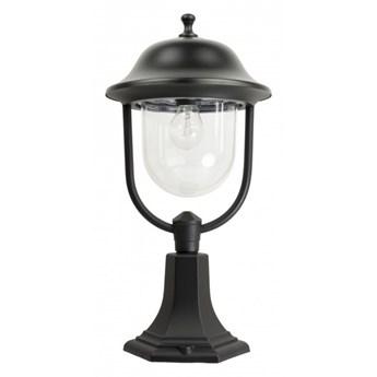 PRINCE lampa stojąca 1 x 60W E27 słupek ogrodowy metalowy czarny stylowy SUMA K 4011/1 O