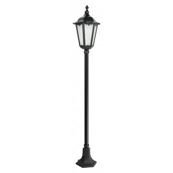 RETRO CLASSIC lampa stojąca 1 x 60W E27 słupek ogrodowy metalowy czarny stylowy SUMA K 5002/1 (164 cm)