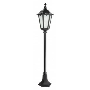 RETRO CLASSIC lampa stojąca 1 x 60W E27 słupek ogrodowy metalowy czarny stylowy SUMA K 5002/2 (117 cm)