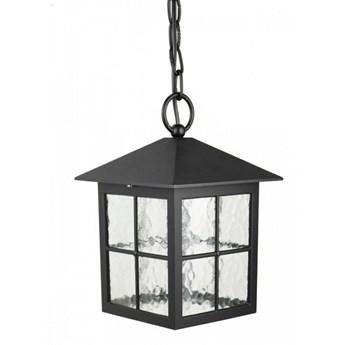 WENECJA lampa wisząca 1 x 60W E27 sufitowa zewnętrzna tarasowa czarna stylowa SUMA K 1018/1/KW