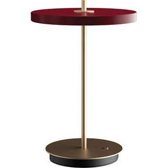 Lampa stołowa Asteria Move Ruby Red, proj. S. R. Christensen, UMAGE