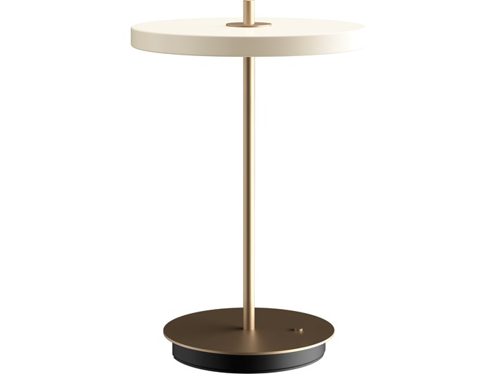 Lampa stołowa Asteria Move Pearl White, proj. S. R. Christensen, UMAGE