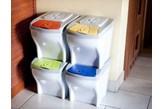 Plastikowy kosz do śmieci EKOLOGIA 20 l