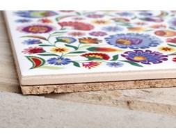 Podstawka ceramiczna pod garnek NANAELO KOGUT ŁOWICKI 15 x 15 cm