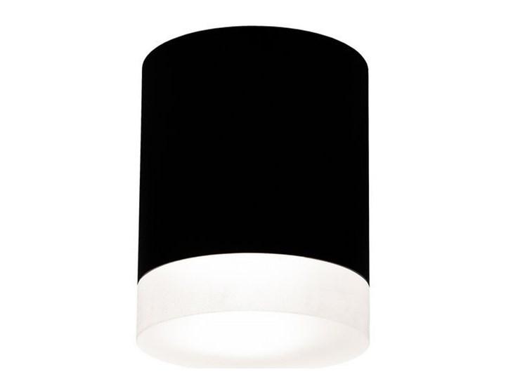 Punktowa oprawa sufitowa natynkowa ZIRA GU10 okrągła czarna, pierścień biały mrożony EDO777340 EDO Oprawa stropowa Kolor Czarny Okrągłe Kategoria Oprawy oświetleniowe