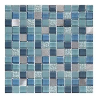 Mozaika Lizon GoodHome 30 x 30 cm blue