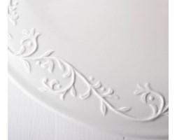 Patera na ciasto DUO HEMINGWAY 29,5 cm -- biały