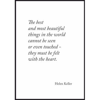 Plakat Najpiękniejsze rzeczy w życiu - cytat