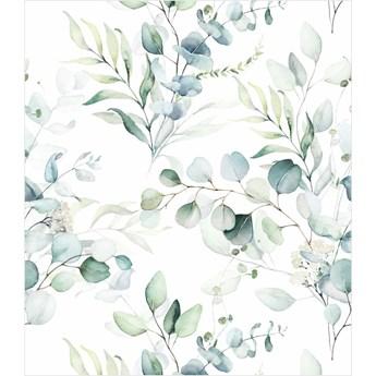 Tapeta kompozycja zielonych liści i gałązek