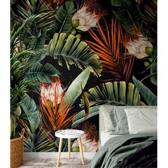 Tapeta tropikalne kwiaty